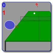 بازی تنیس روی میز ، بازی پینگ پنگ ساده