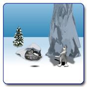 بازی پرتاب پنگوئن با ضربه