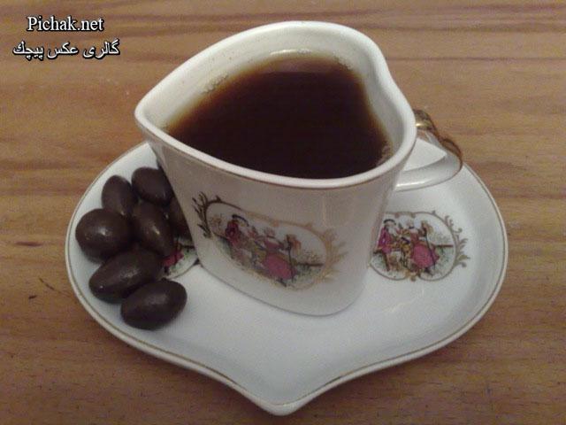 عکس چای قهوه